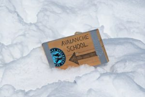 get yourself trained in avalanche school